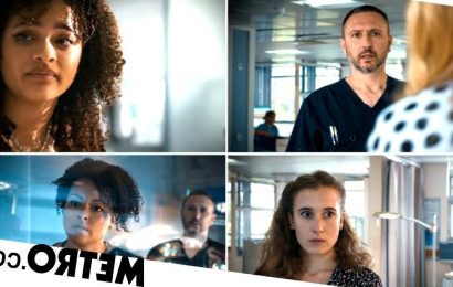 Holby City spoilers: Fletch and Donna discover Evie and Mia's sex abuse?