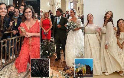 Hotelier Sir Rocco Forte's daughter Irene celebrates nuptials