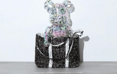 Jimmy Choo teams up with Eric Haze and Poggy to Create Unisex Collection and BE@RBRICK