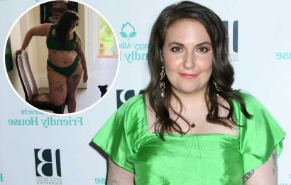 Lena Dunham shares body-positive message with bikini-clad post