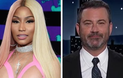 Nicki Minaj Responds to Jimmy Kimmel Asking to Interview Her Cousin's Friend with Swollen Testicles