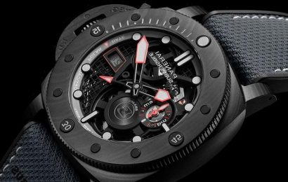 Panerai Teams Up With Brabus For Submersible S BRABUS Black Ops Edition