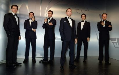 See All Six James Bonds Together, in Wax Form, at Madame Tussauds Exhibit in London