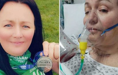 Woman who thought her sore throat was long Covid turned out to have TWO cancers