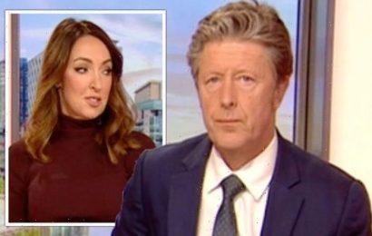 'I wasn't listening!' Charlie Stayt caught ignoring co-star live on BBC Breakfast