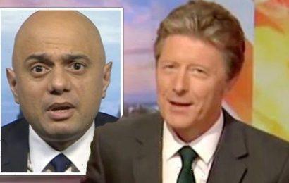 Charlie Stayt slammed over 'car crash' Sajid Javid interview 'Balance the argument BBC'