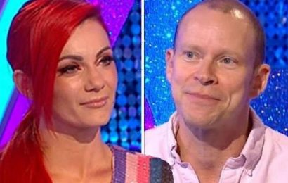 Dianne Buswell bids farewell to Robert Webb as he quits Strictly amid urgent symptoms