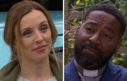 Emmerdale exit for Andrea Tate after Charles declares his love for Manpreet?
