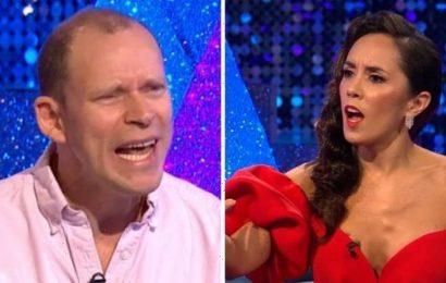 Ill go home now! Strictlys Robert Webb fumes over running BBC joke