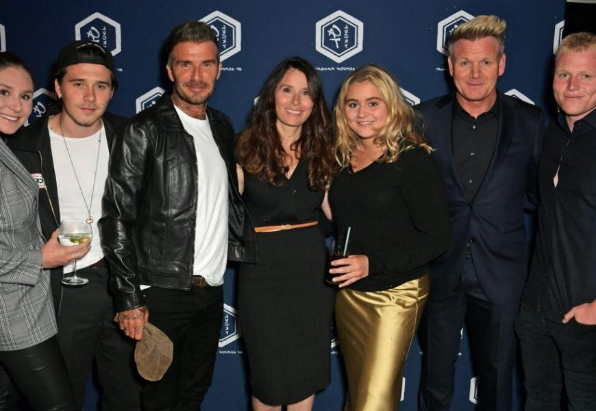 Inside the Beckhams bond with the Ramsays as David throws support behind Tilly