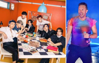 RS Charts: Coldplay, BTS Dethrone Drake With 'My Universe'