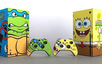 SpongeBob and the Ninja Turtles Take Over the Xbox Series X to Celebrate 'Nickelodeon All-Star Brawl'