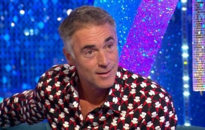 Strictly fans worried over Greg Wise and Karen Hauers negative body language