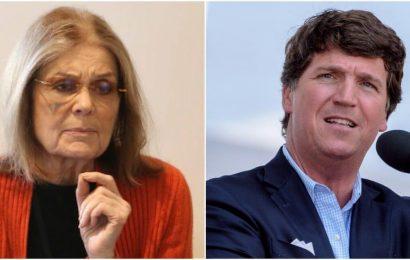Tucker Carlson Likens Hitler, Gloria Steinmen on Abortion Ban