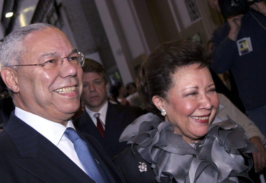 Who Is Colin Powell's Wife, Alma Powell? How Many Kids Do They Have?